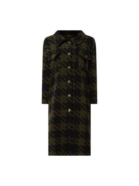 Płaszcz wełniany - zielony Miss Goodlife