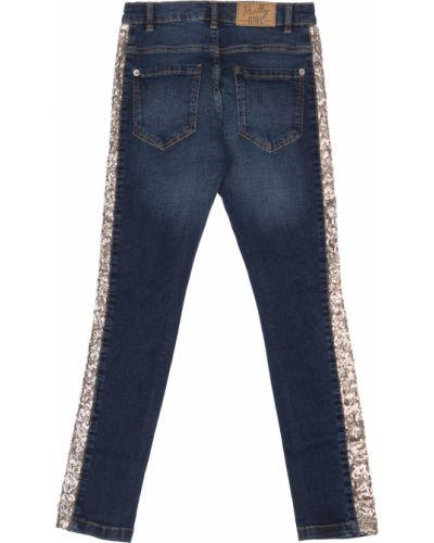 Рваные синие брюки Blukids