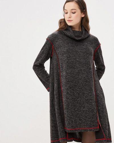 Вязаное платье осеннее трикотажное Madam T