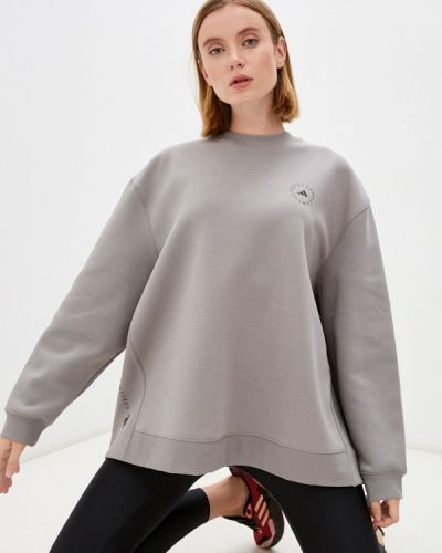 Свитшот - серый Adidas By Stella Mccartney