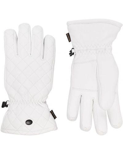 Перчатки с манжетами - белые Goldbergh
