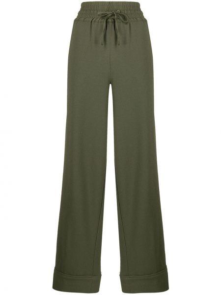 Спортивные брюки с карманами с завышенной талией Ganni