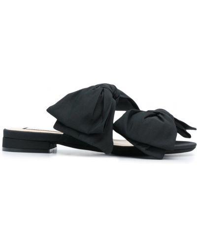 Сандалии черные N21