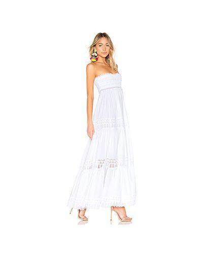 Платье со вставками с кружевными рукавами Charo Ruiz Ibiza