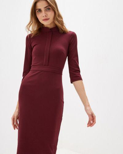 Платье футляр бордовый Trendyangel