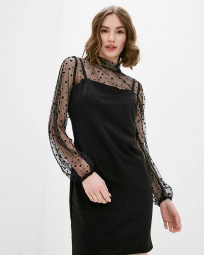 Черное вечернее платье Pink Summer