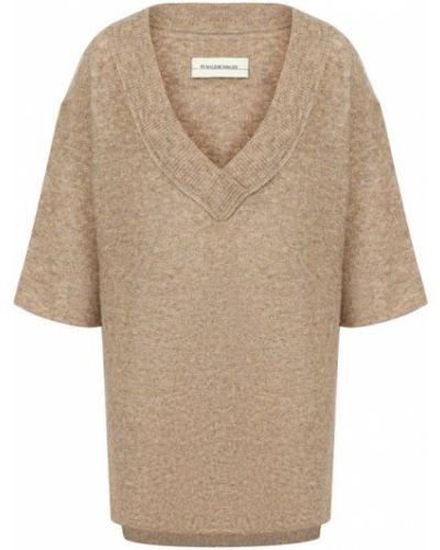 Вязаный свитер с V-образным вырезом By Malene Birger