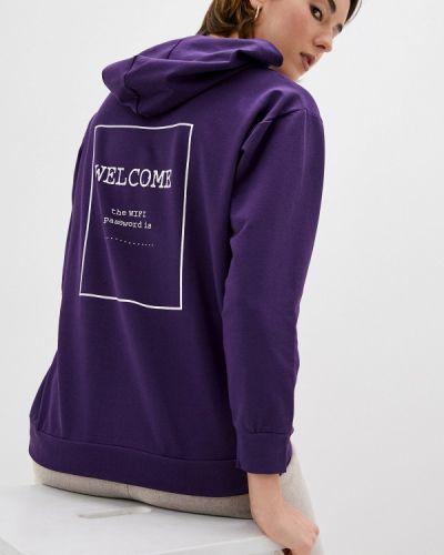 Фиолетовая толстовка Trendyol