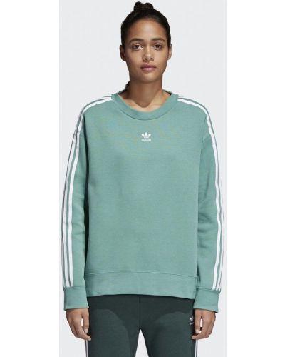 Зеленая толстовка Adidas Originals