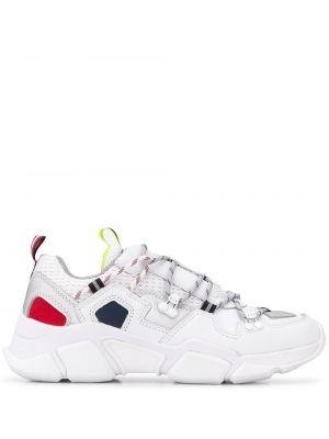 Кожаные кроссовки белый плоский Tommy Hilfiger