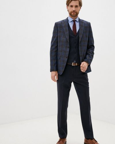 Костюмный синий костюм Laconi