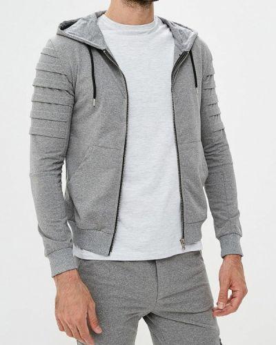 Спортивный костюм итальянский серый Aarhon
