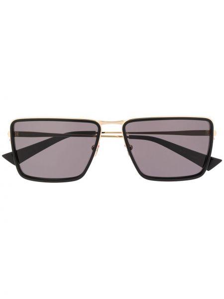 Черные солнцезащитные очки квадратные металлические Christian Roth