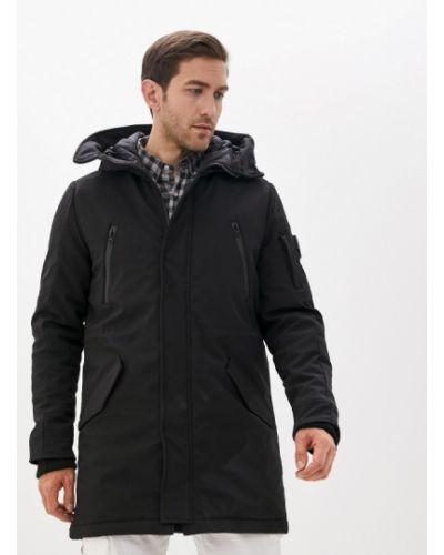 Черная утепленная куртка Paragoose