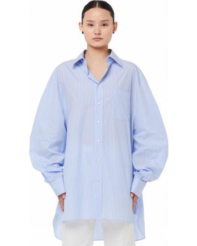 Блузка в полоску Maison Margiela