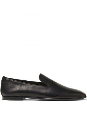 Loafers - czarne Jimmy Choo