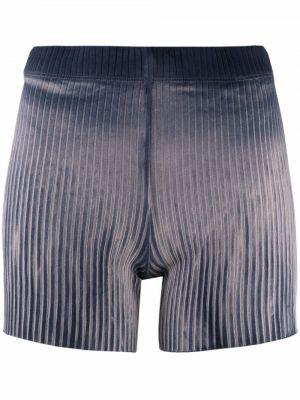 Хлопковые шорты - синие Cotton Citizen