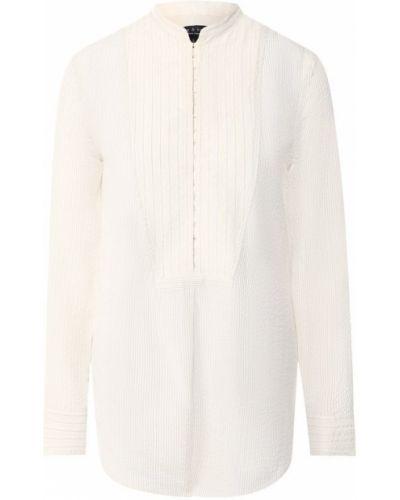 Шелковая блузка - бежевая Rag&bone