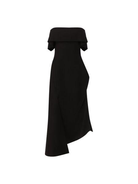 Шелковое платье с подкладкой Lanvin