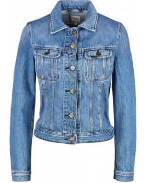 Джинсовая куртка укороченная Lee