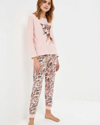 Розовая пижама Sela