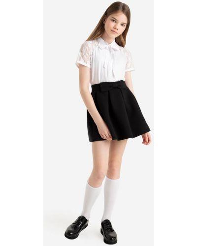 Джинсовая юбка - черная Gloria Jeans