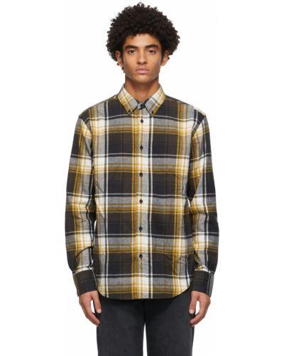 Flanelowa koszula - czarna Rag & Bone