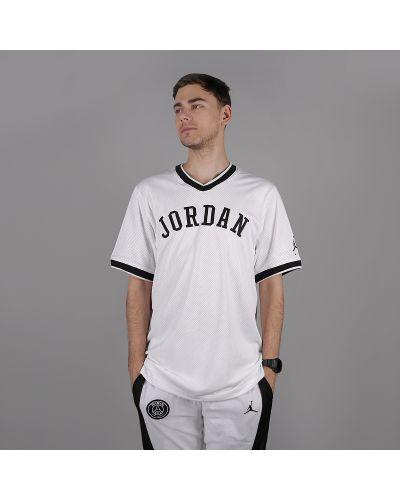 Белая футболка Jordan