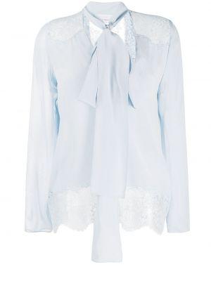 Шелковая блузка - синяя Faith Connexion