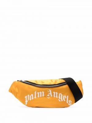 Pasek z klamrą - żółty Palm Angels