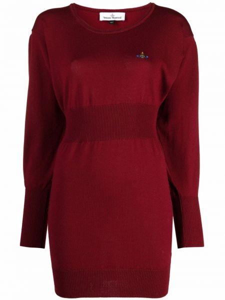 Красное прямое пальто Vivienne Westwood