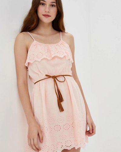 Платье весеннее розовое Piazza Italia