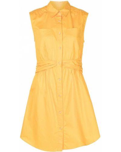 Платье рубашка - желтое Derek Lam 10 Crosby