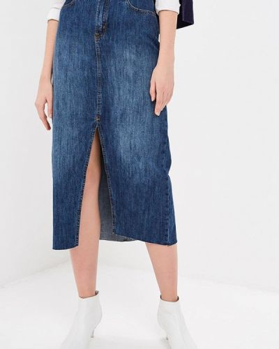 Джинсовая юбка осенняя Gap