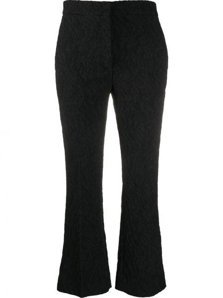 Укороченные брюки - черные Rochas