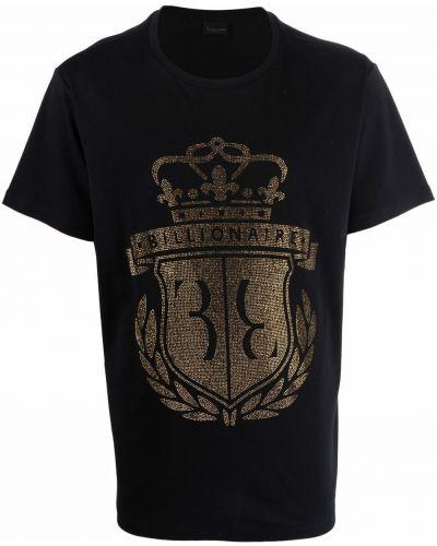 Черная футболка с короткими рукавами Billionaire