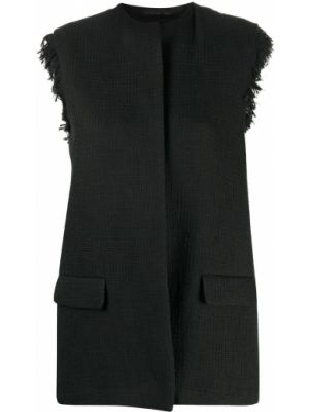 Черный пиджак с карманами Federica Tosi