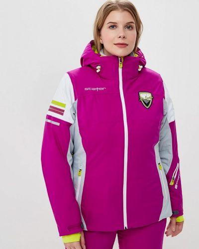 Горнолыжная куртка осенняя розовая Stayer