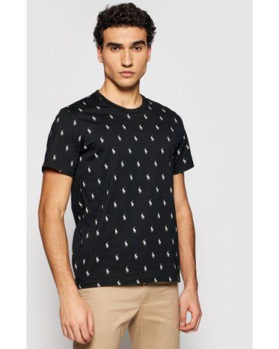 Czarny t-shirt Polo Ralph Lauren