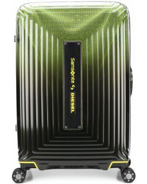 Черный чемодан Diesel