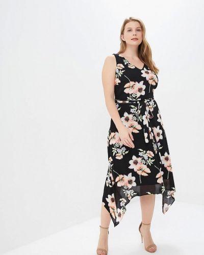 Черное зимнее платье Wallis