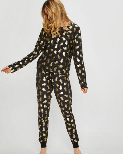 Пижама с брюками черная пижамный Chelsea Peers