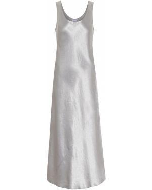 Платье миди на бретелях сатиновое Max Mara
