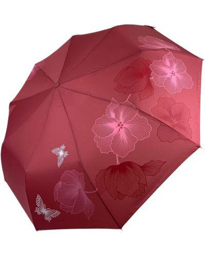 Складной зонт - розовый Flagman