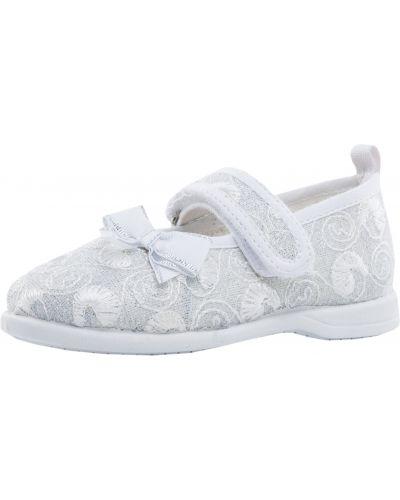 Туфли текстильные серебряный Mothercare
