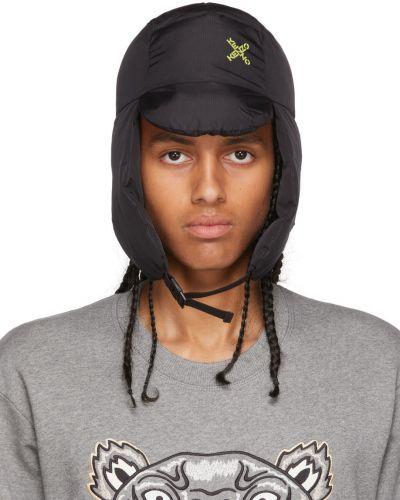 Czarna czapka sportowa Kenzo