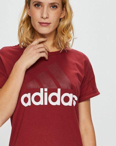 Футболка свободная хлопковая Adidas Performance