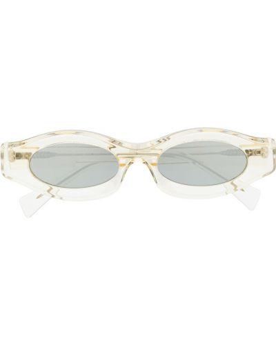 Фиолетовые солнцезащитные очки круглые Kuboraum