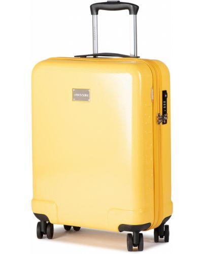 Żółta walizka Puccini