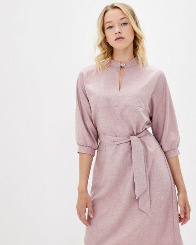 Прямое платье - розовое Shovsvaro